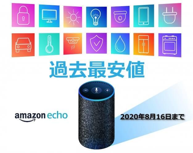 【Echoシリーズが過去最安値】Amazonで最大1万円割引中!アレクサ、今買い時?