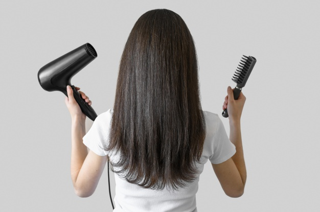 髪が乾くまでの時間