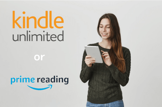 Kindle UnlimitedとPrime Readingとの違い