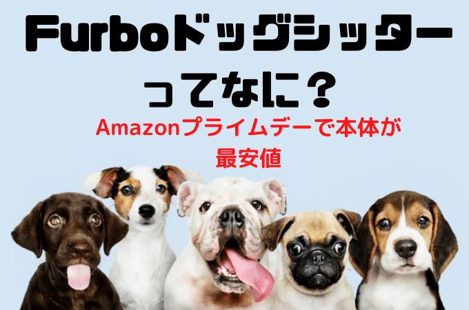 【Furbo(ファーボ)ドッグシッターとは】料金や最安値を解説