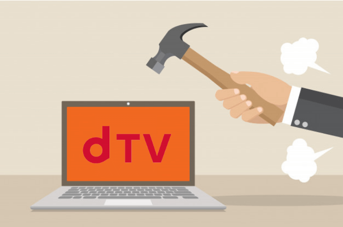 dTVが他社より劣っているデメリット