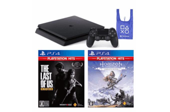 PlayStation 4 +ソフト2枚+エコバッグ