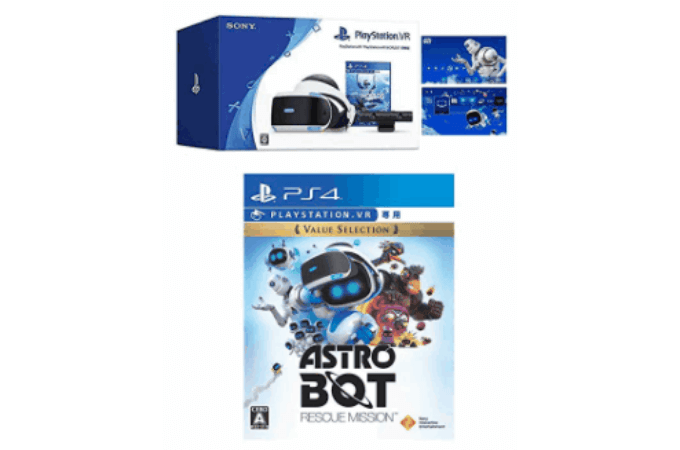 PlayStation VR + ASTRO BOT:RESCUE MISSION セット
