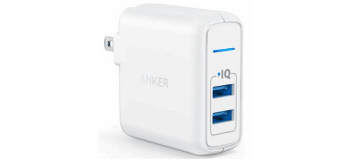 【急速充電器】Anker PowerPort 2 Elite