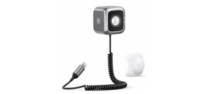 【iPhone連動LEDフラッシュライト」Anker iPhone LED Flash