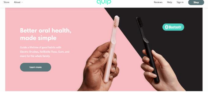 Quip(クイップ)のデメリット