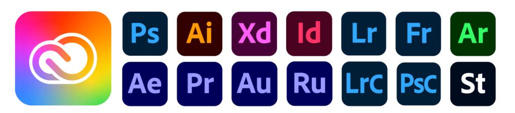 Adobe Creative Cloud(月2,980円)