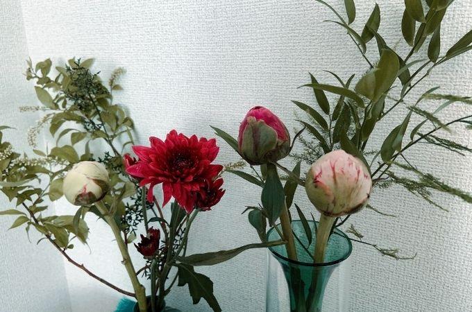 2021年5月のメインのお花は「芍薬」