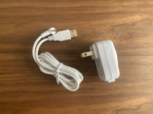 USBケーブルが便利