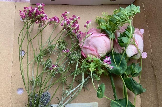 お花は全部で4種類
