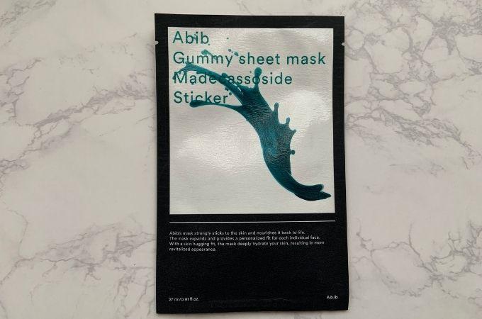 Abib / ガムシートマスク マデカソサイドステッカー