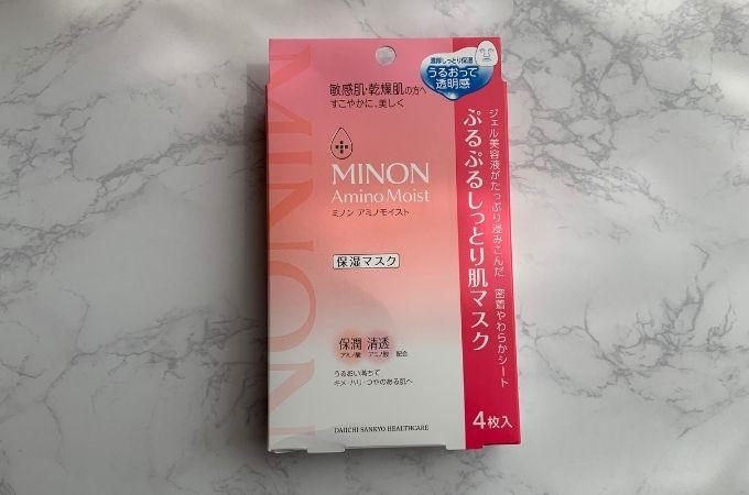 MINON AminoMoist /ミノン アミノモイスト ぷるぷるしっとり肌マスク
